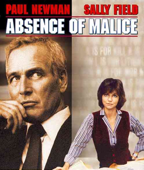ABSENCE OF MALICE BY NEWMAN,PAUL (Blu-Ray)